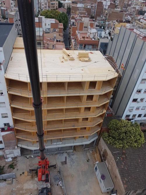 Edificio La Borda Barcelona